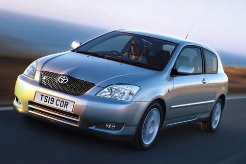 Toyota corolla 1 6 vvt i tekniset tiedot